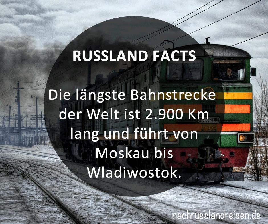 Russland Eisenbahn